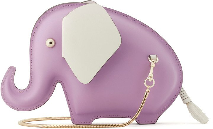 Elephant Leather Crossbody Bag