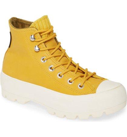 Converse Chuck Taylor® All Star® Gore-Tex® Waterproof Lugged High Top Sneaker (Women) | Nordstrom