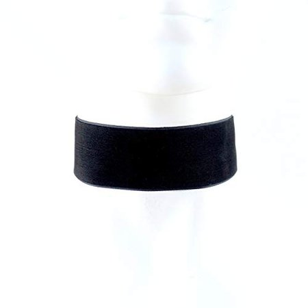 Amazon.com: Arthlin Jewelry EXTRA WIDE Black Velvet Choker Necklace 1.5'', Custom made to your size, Handmade in the USA: Handmade