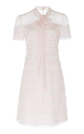 Aster Polka-Dot Tulle Shift Dress by Jenny Packham | Moda Operandi