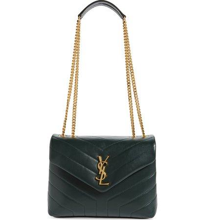 Saint Laurent Small Loulou Quilted Calfskin Shoulder Bag | Nordstrom