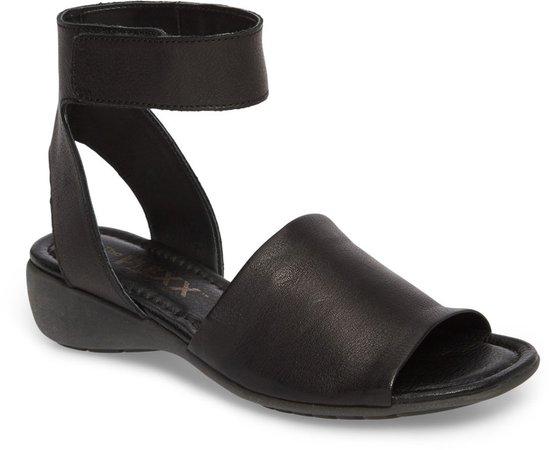 'Beglad' Leather Ankle Strap Sandal