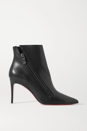 Birgikate 85 Leather Ankle Boots - Black