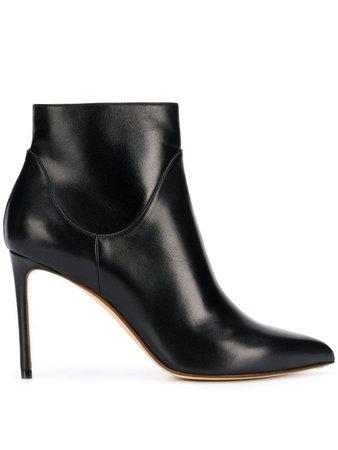 Francesco Russo Stiletto Ankle Boots - Farfetch