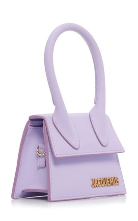Jacquemus Le Chiquito Matte Leather Bag In Purple | ModeSens