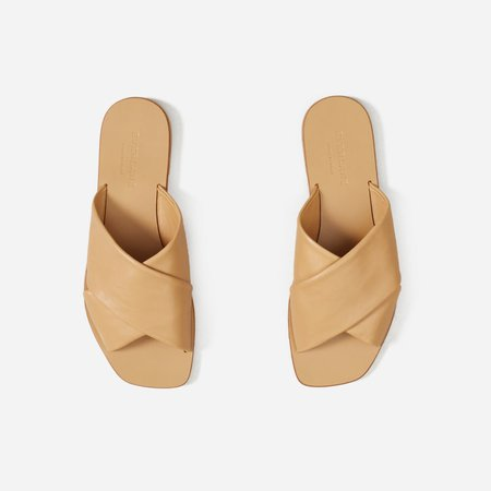 Women's Day Crossover Sandal | Everlane tan