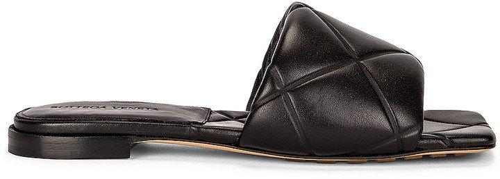 Rubber Lido Sandals in Black | FWRD