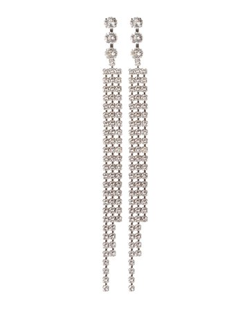Isabel Marant Crystal Fringe Earrings | INTERMIX®