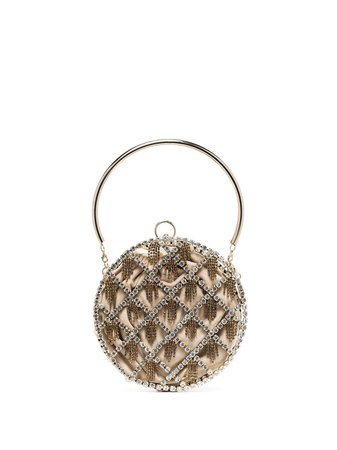 Rosantica Gautier crystal-embellished circle bag £830 - Shop Online - Fast Delivery, Free Returns