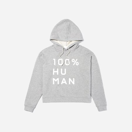 Women's 100% Human French Terry Hoodie in Large Print   Everlane