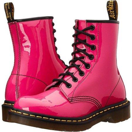 Magenta/Pink Doc Marten Boots