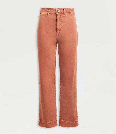 Slim Wide Leg Jeans