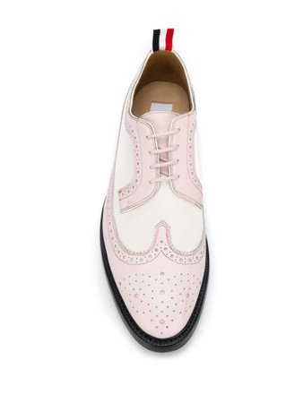 Thom Browne Longwing Spectator Brogues - Farfetch
