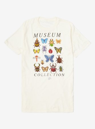 Animal Crossing Museum Collection Girls T-Shirt