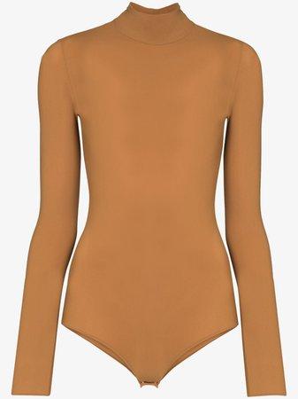 Maison Margiela high-neck Fitted Bodysuit - Farfetch