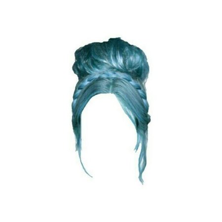 blue hair doll png