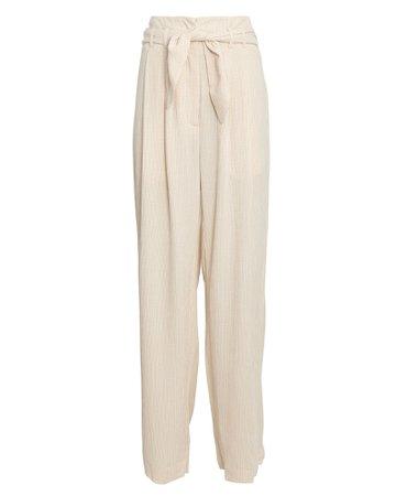 Samsøe Samsøe Nellie Paperbag Wide-Leg Trousers | INTERMIX®