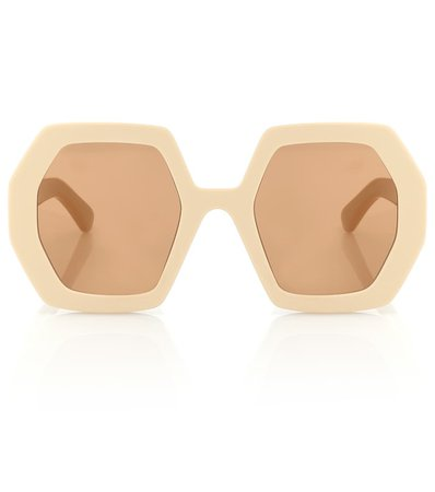 Hexagonal Sunglasses | Gucci - Mytheresa