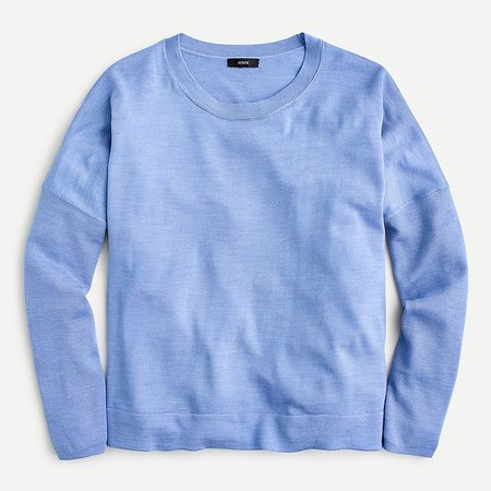 J.Crew: Relaxed-fit Crewneck Sweater For Women