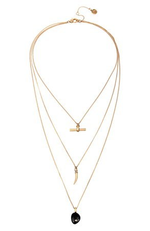 ALLSAINTS Layered Pendant Necklace | Nordstrom