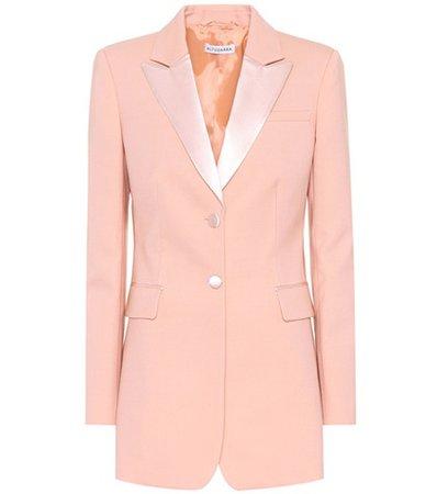 West stretch-wool blazer