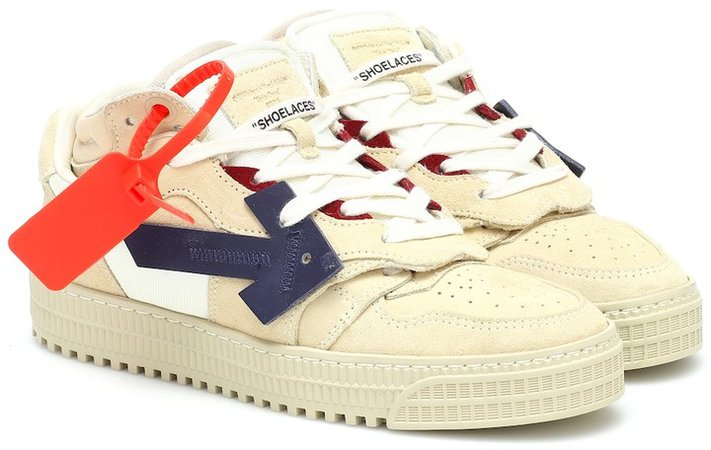 OFF-COURT suede sneakers