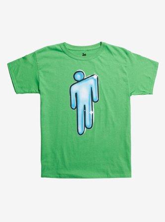Billie Eilish Graffiti Blohsh Girls T-Shirt