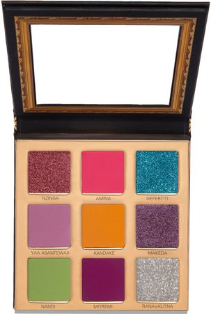 Uoma Beauty Black Magic 'Coming 2 America' Queen to Be Color Palette