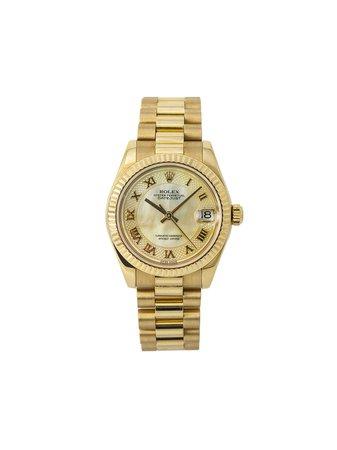 Rolex Montre Datejust 31 Mm pre-owned - Farfetch
