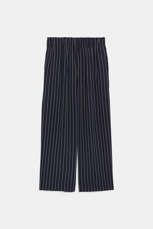 STRIPED CULOTTES - View all-PANTS-WOMAN | ZARA United States