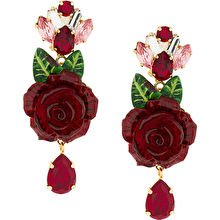 Dolce + Gabbana Rose Earrings