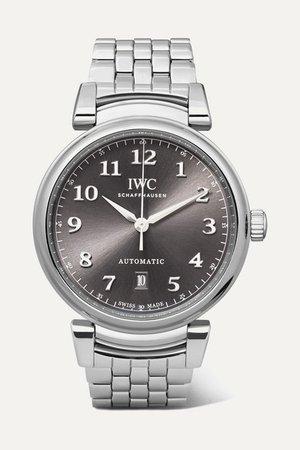 IWC SCHAFFHAUSEN | Da Vinci Automatic 40mm stainless steel watch | NET-A-PORTER.COM