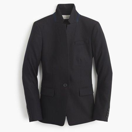 J.Crew: Regent Blazer In Wool Flannel For Women
