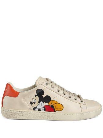 Gucci Baskets Gucci x Mickey Mouse - Farfetch