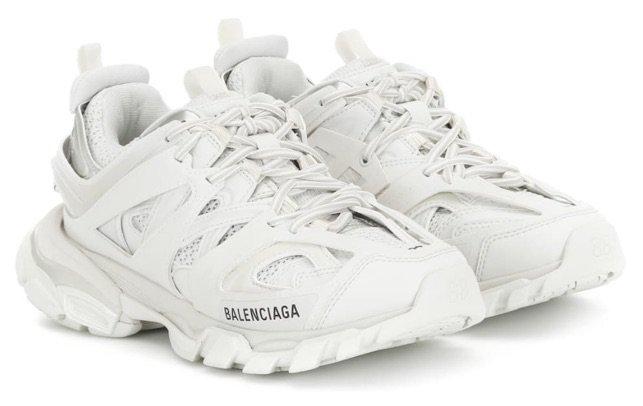 BALENCIAGA White Track Trainers
