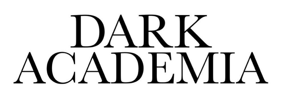 dark academia text