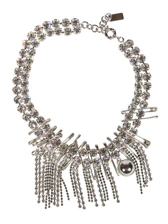 N.21 Crystal-embellished Necklace