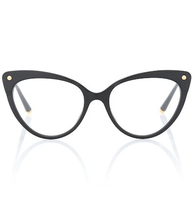 Cat-eye glasses