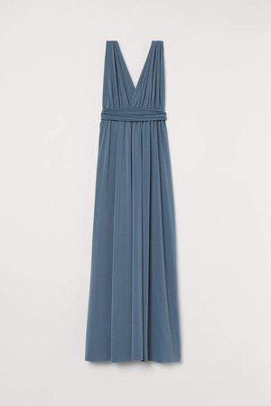 Multiway Long Dress - Blue