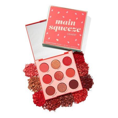 Main Squeeze Watermelon Red Eyeshadow Palette | ColourPop