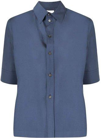 Straight-Fit Short-Sleeved Shirt