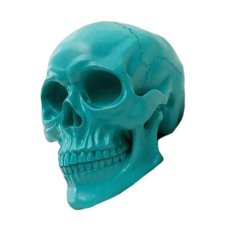 png blue filler skull