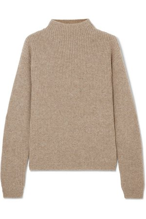 Deveaux | Ribbed cashmere sweater | NET-A-PORTER.COM