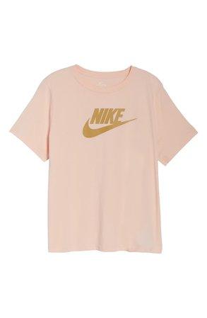 Nike Sportswear Futura Tee (Plus Size) pink