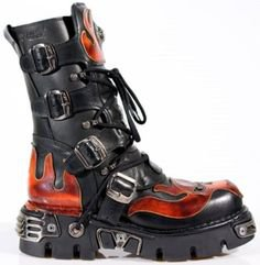 Gothic Mens boots