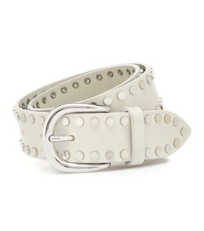 Wynoo studded leather belt