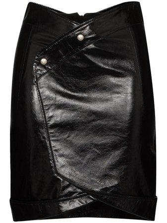 Shop black RtA paloma mini skirt with Express Delivery - Farfetch