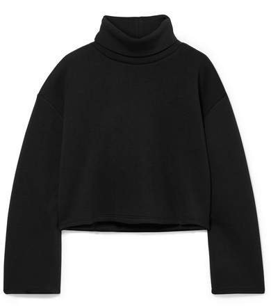 Beaufille - Cura Stretch-jersey Turtleneck Top - Black