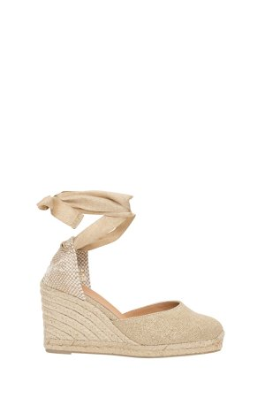 Castañer Carina Rope Wedge Sandals