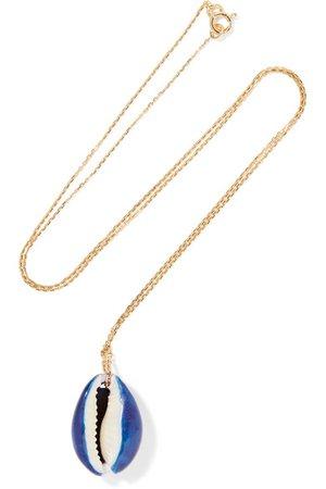 Aurélie Bidermann | Merco gold shell necklace | NET-A-PORTER.COM